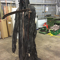 Death and the Maiden Behind Scenes - Making the Robe