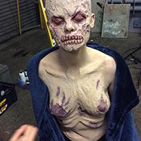 Freddy Girl Makeup Application