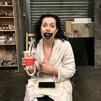 BTS Fright Night 08 - Blackout Mouth Area