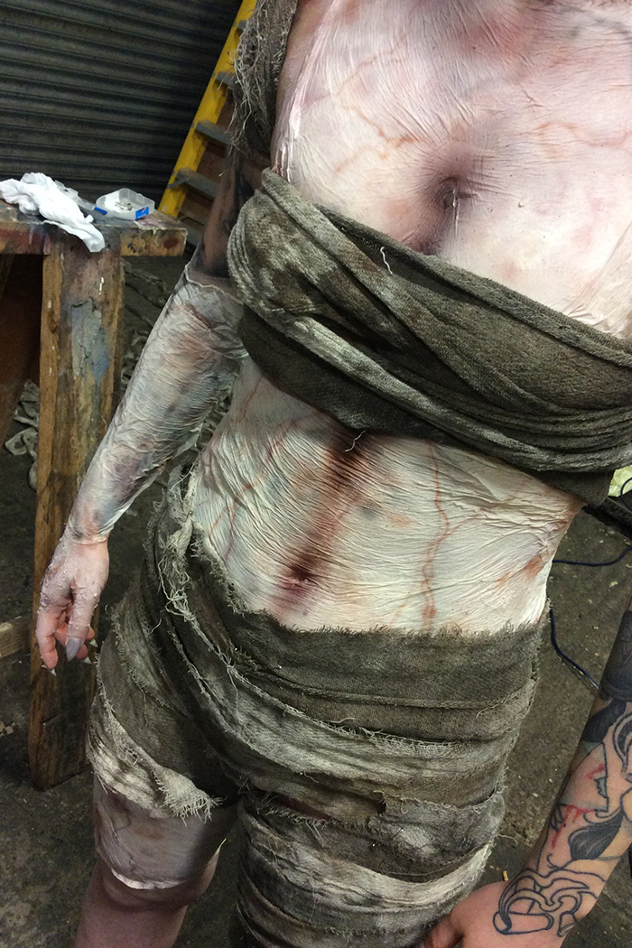 Click to buy print - 01 - Mummy Behind Scenes