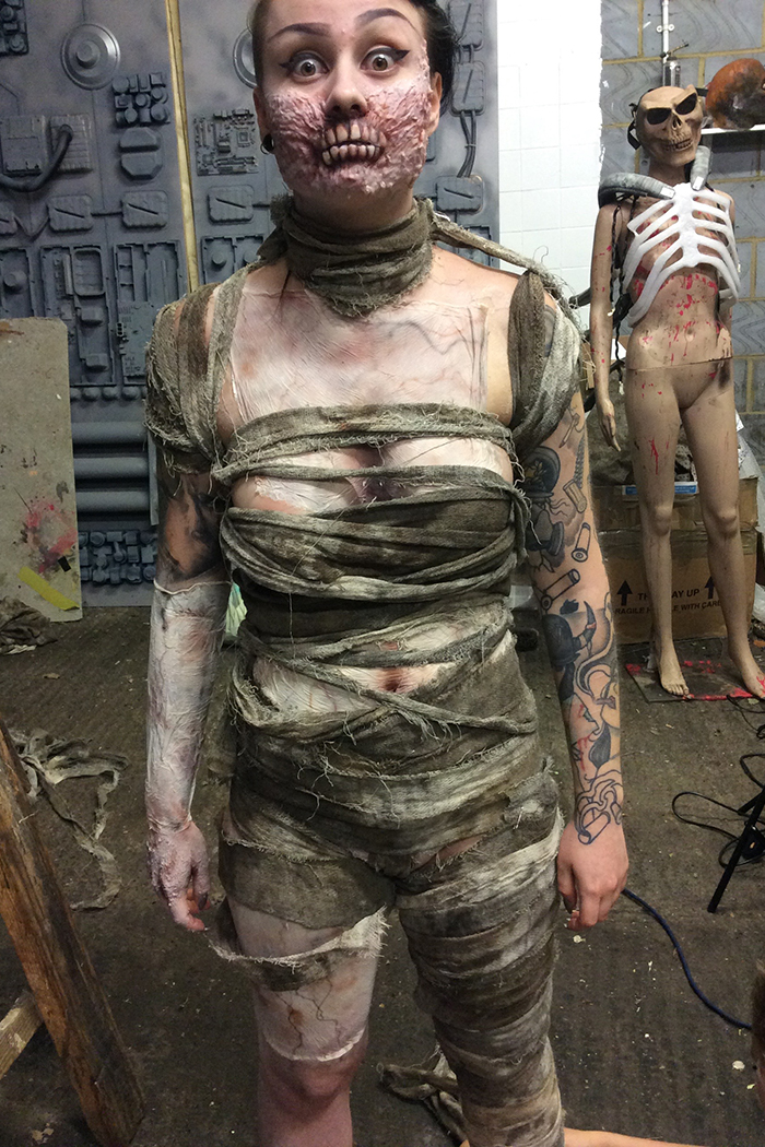 Click to buy print - 02 - Mummy Behind Scenes