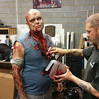 Adding Fake Blood