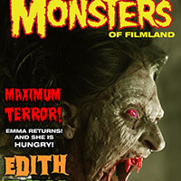 Famous Monsters Cover with Emma