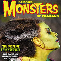 Famous Monsters Cover with Claire
