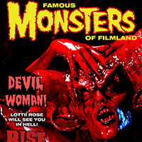 Famous Monsters Cover with Lottii