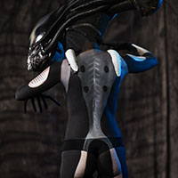 Alien Xenomorph by Claire