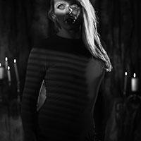 A Vampire in the Dark BW