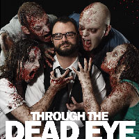Through the Dead Eye - Book by Andy Rawlings with our cover photo and design