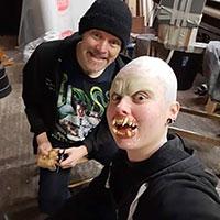 BTS Nazi Werewolf 03 - Bonding Teeth in Place