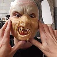 BTS Nazi Werewolf 04 - Fitting Prosthetic