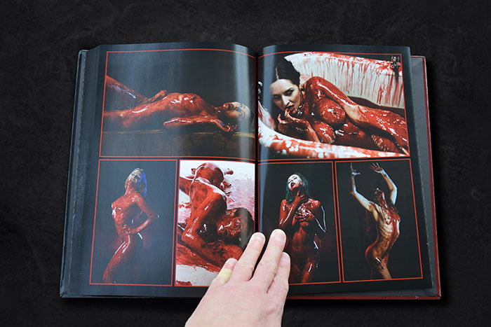 Click to buy print - Horrify Me Book 11 - Pages