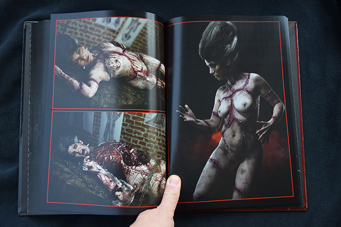 Click to buy print - Horrify Me Book 08 - Pages