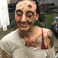 BTS - Zombie Makeup Tuition Demo