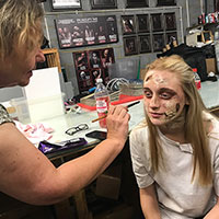 01 - Makeup Application with Kezz and Tamsyn