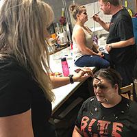 02 - Makeup Application with Amanda and Lisa