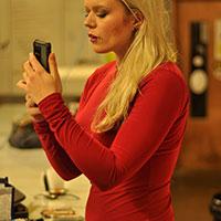 Behind Scenes Amanda Vampire Shoot