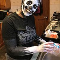 Halloween Shoot 2021 - Making Snacks