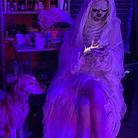 Halloween Shoot 2021 - Waiting to Shoot