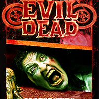 Evil Dead Poster with Carly