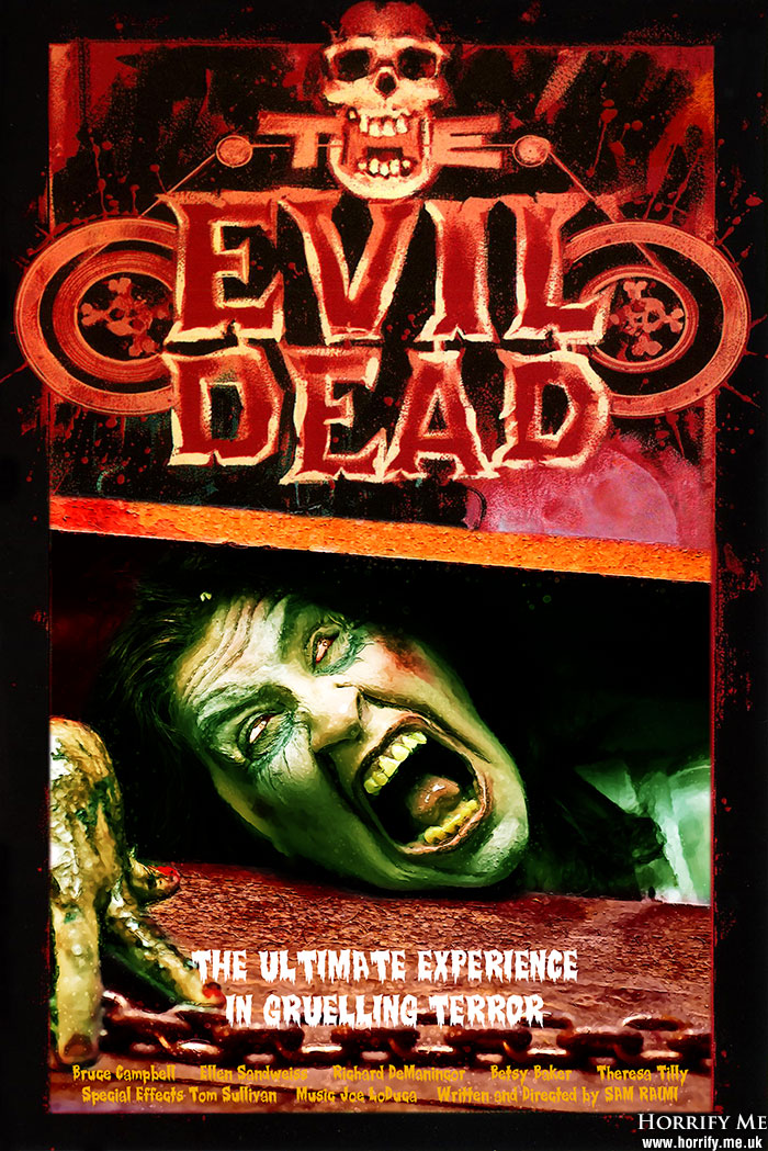 Click to buy print - Evil Dead Poster with Carly