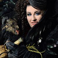 Vampire at Horror Con 2019