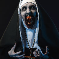 Valak the Demon Nun from The Conjuring 2