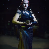 Cenobite Angelique by Sarah Smith at HorrorCon 2016