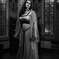 Lily Munster BW