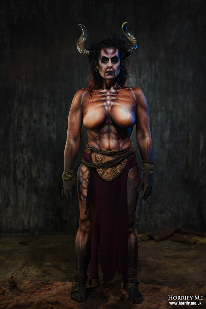 Click to buy print - Demon Bodypaint