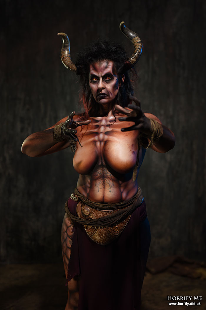 Click to buy print - Demon Bodypaint