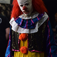 Pennywise the Clown at Horror Con 2019