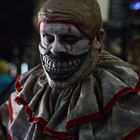 Twisty the Clown at Horror Con 2019
