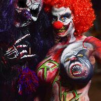 Clown by John Jones with Khaos the Clown at HorrorCon 2016