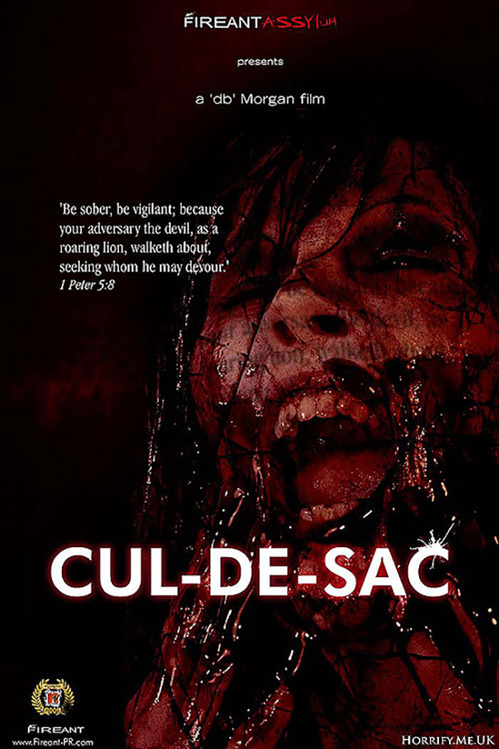 Click to buy print - Cul De Sac - Film Promo poster first edition by Horrify Me