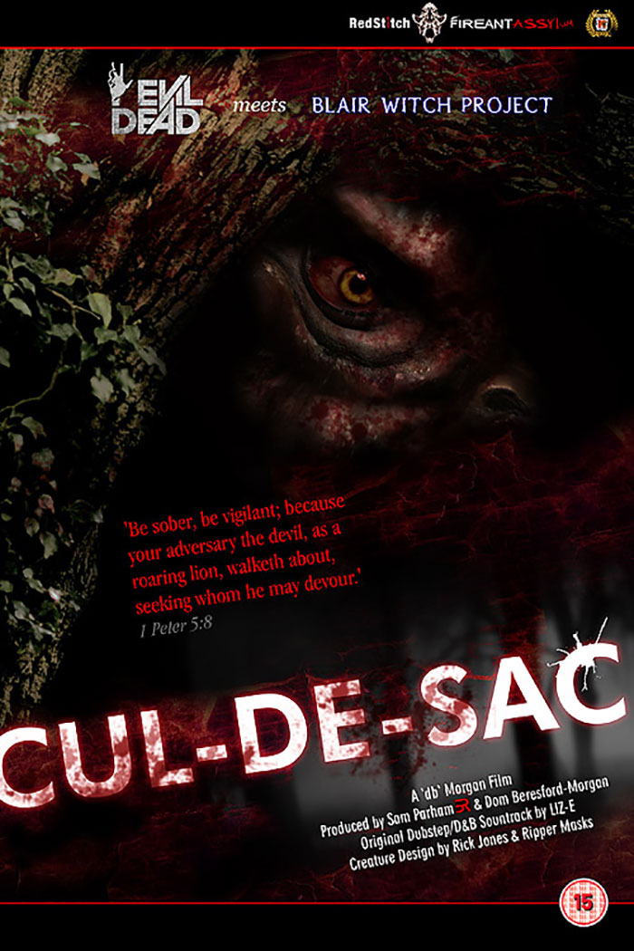 Click to buy print - Cul De Sac - Film Promo poster second edition by Horrify Me