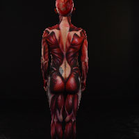 Skinned Body Paint 2 - Rear