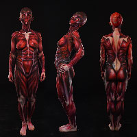 Skinned Body Paint by Sarah Smith