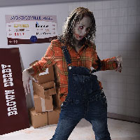 19 - Mall Zombie - film style