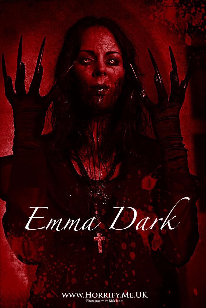Click to buy print - Emma Dark - The Vampiress