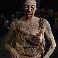 Vampire Edith at Horror Con 2019