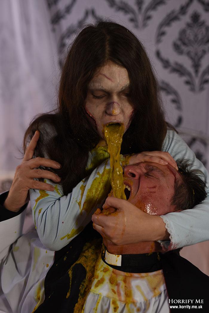 Click to buy print - Exorcist 24 - Vomit