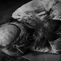 The Fly BW - 11 - Dead Fly