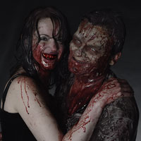 A Vampire and her Pet Zombie