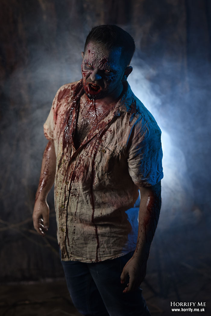 Click to buy print - Lurking Zombie