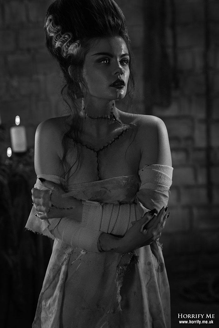 Click to buy print - 101 Bride in the Dark BW