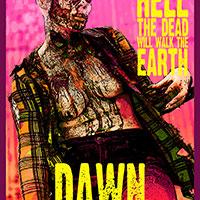 Dawn of the Dead Pop Art with Georgia