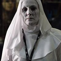 Creepy Nun at Horror Con 2019