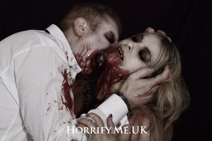 Click to buy print - Vampire Love