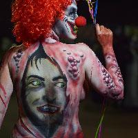 Clown by John Jones at HorrorCon 2016