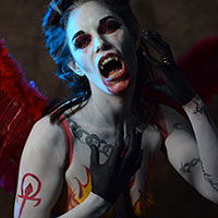 Horror Con Body Paint by Hayleigh